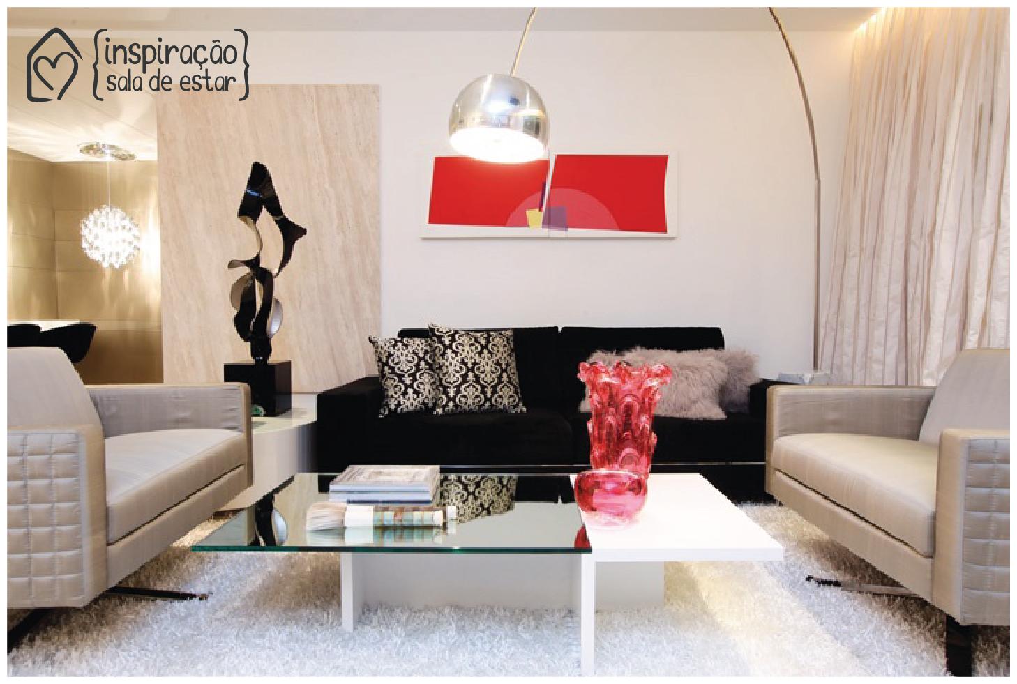 Sala De Estar Fashion ~ Inspiração – sala de estar  Casa das Amigas